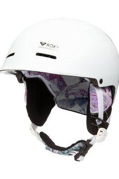 roxy snowboardhelm »avery« wit