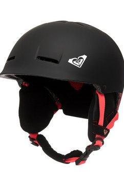 roxy snowboardhelm »avery« zwart