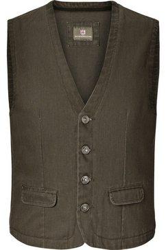 jan vanderstorm jeans vest »torell« groen