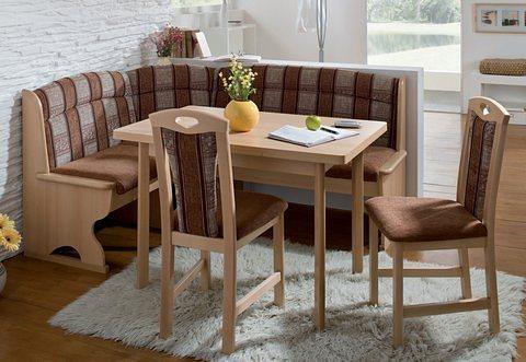 Eethoek, Schosswender, tafel met 4 poten, 4-delige set