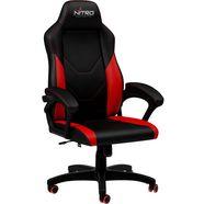 nitro concepts gamingstoel c100 gaming chair rood