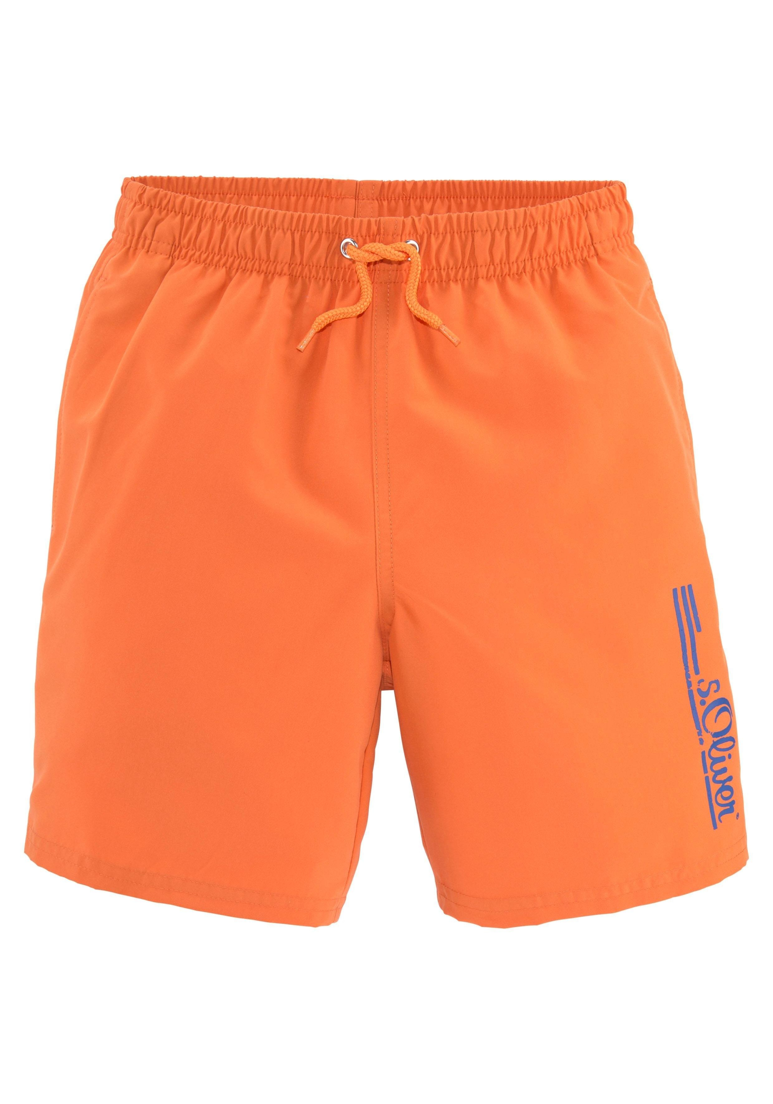 s.Oliver Beachwear s.Oliver RED LABEL Beachwear zwemshort goedkoop op otto.nl kopen