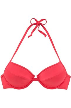 bench. push-up-bikinitop »perfect« rood
