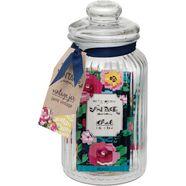 reinigingsset voor de huid vintage jar (6-delig) multicolor