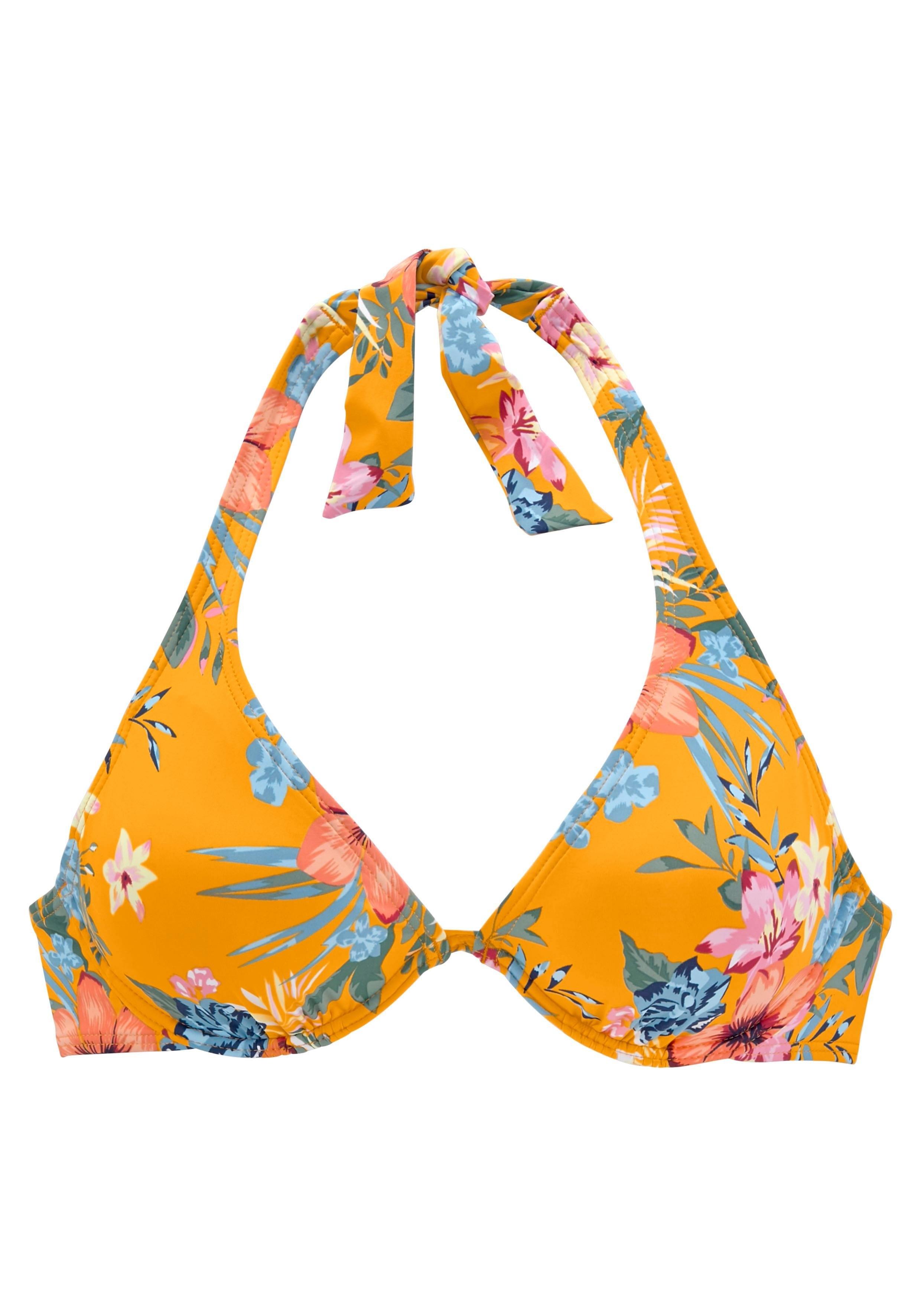 Bench. bikinitop met beugels Maui met een bloemmotief - verschillende betaalmethodes
