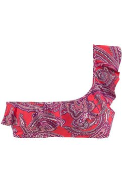 lascana bustierbikinitop »boho« rood