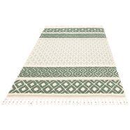 vloerkleed, »arian«, home affaire, rechthoekig, hoogte 18 mm, machinaal geweven groen