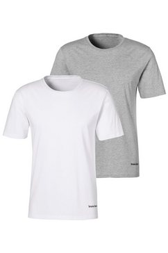 bruno banani t-shirt (set van 2) multicolor