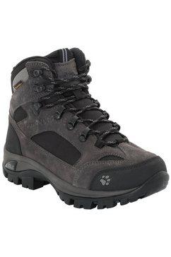 jack wolfskin trekkingschoenen »all terrain 8 texapore mid w« grijs