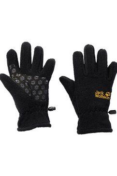 jack wolfskin handschoenen �kids fleece glove� zwart