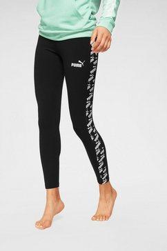 puma legging »amplified leggings« zwart