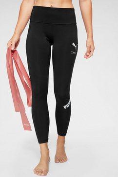 puma functionele tights »nu-tility 7-8 leggings« zwart