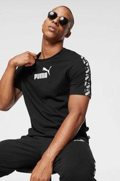 puma t-shirt »amplified tee« zwart