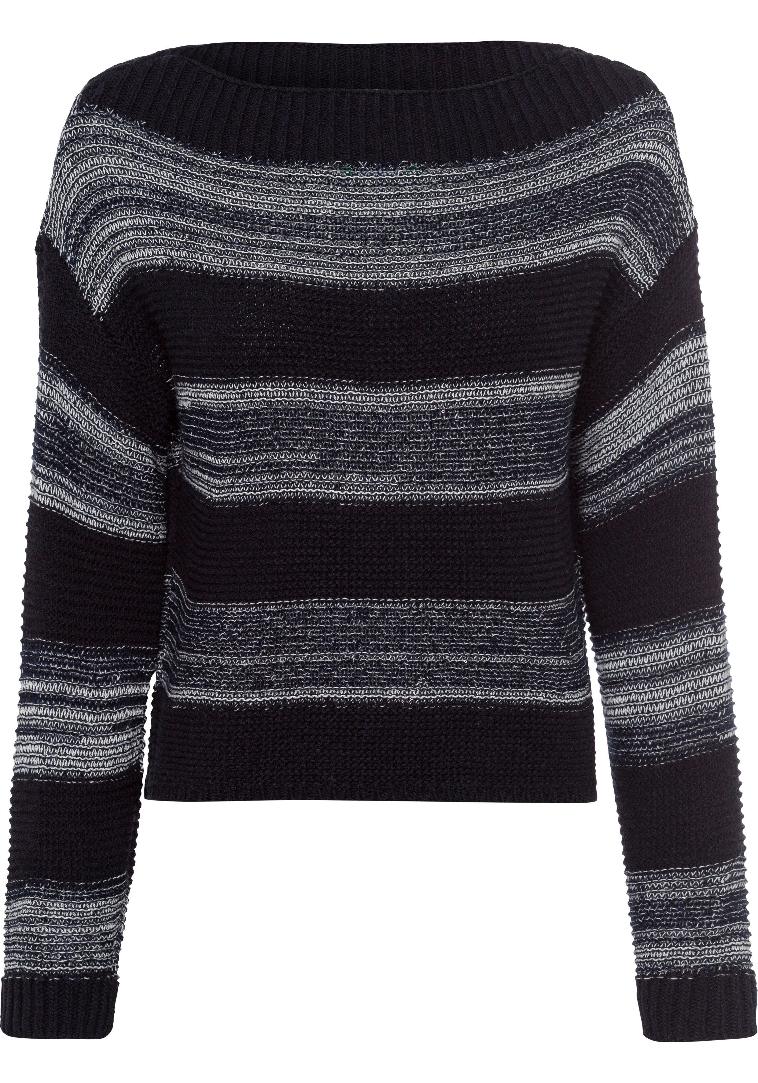 United Colors of Benetton Gebreide trui met stijlvol ingewerkte pailletten goedkoop op otto.nl kopen