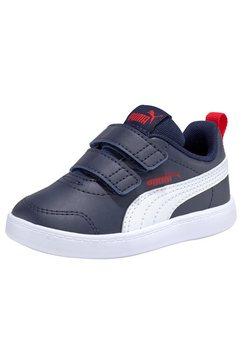 puma sneakers »courtflex v2 v inf« blauw