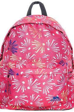 trespass »kinder rucksack britt, 16 liter« kinderrugzak roze