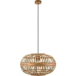 eglo hanglamp »amsfield«, bruin