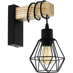 eglo wandlamp »townshend 5«, bruin