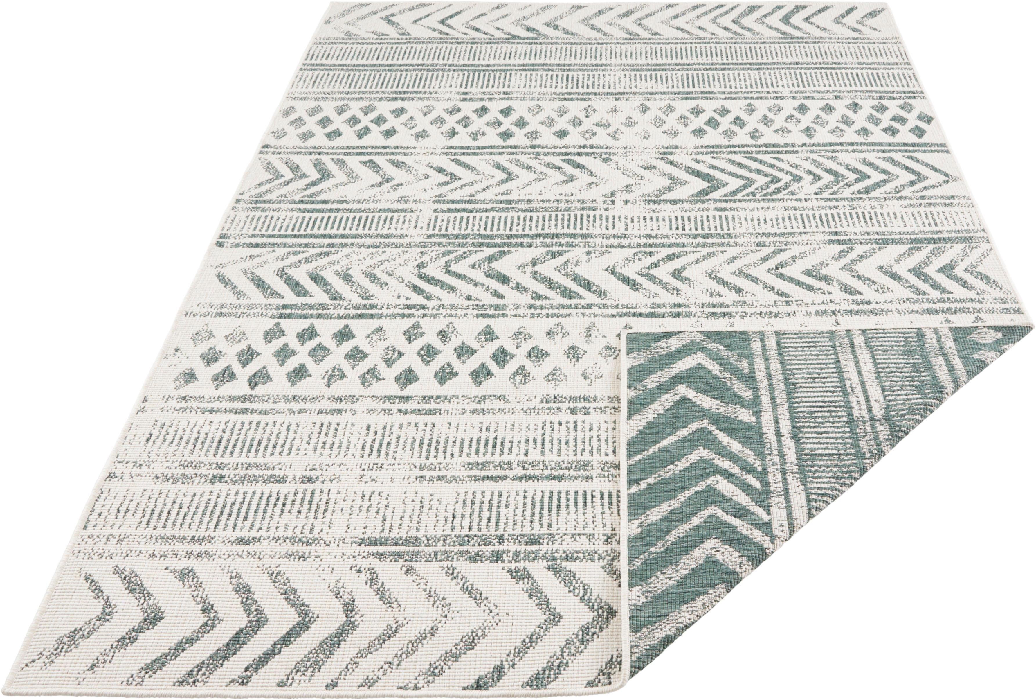bougari vloerkleed BIRI Geschikt voor binnen en buiten, tweezijdig te gebruiken kleed, woonkamer in de webshop van OTTO kopen