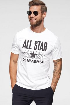 converse t-shirt »converse all star ss tee« wit