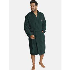 jan vanderstorm badjas janning ochtendjas van prettig zachte badstof (1 stuk) groen