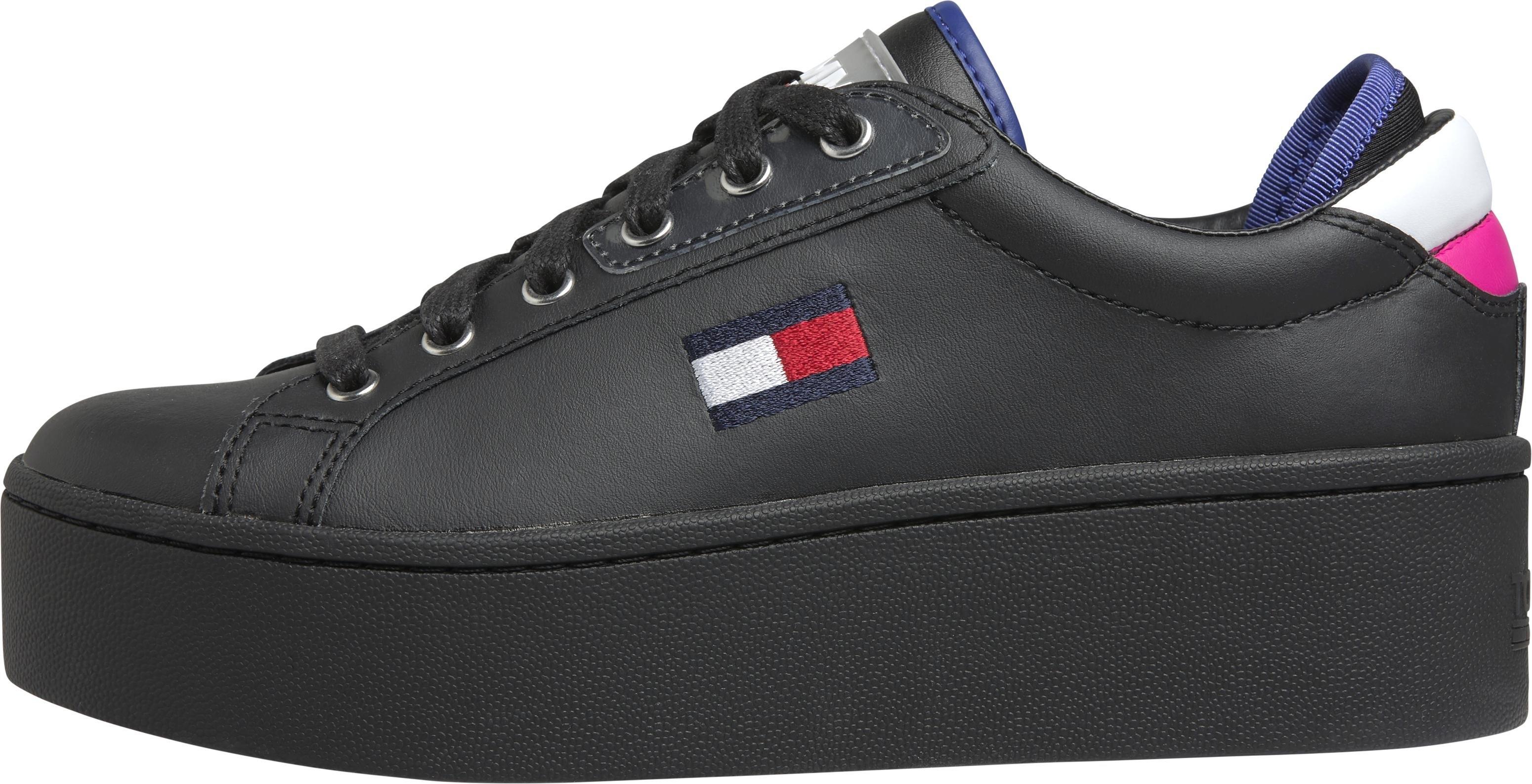 Tommy Jeans plateausneakers »Roxie 21A« nu online kopen bij OTTO