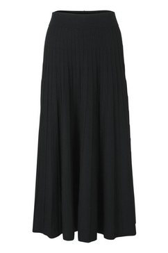 gebreide rok zwart