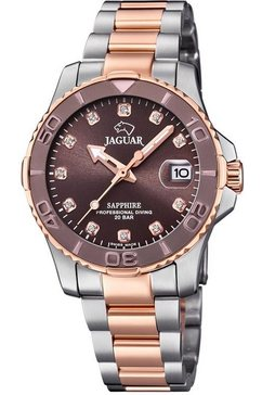 jaguar zwitsers horloge executive diver, j871-2 zilver