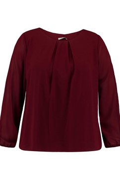 zabaione blouse zonder sluiting »yakira« rood