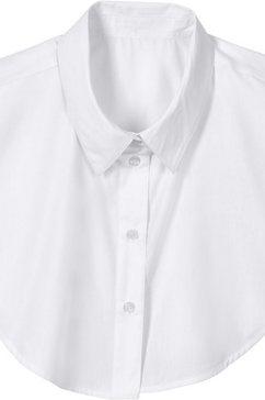 classic basics losse kraag voor een verzorgde look wit