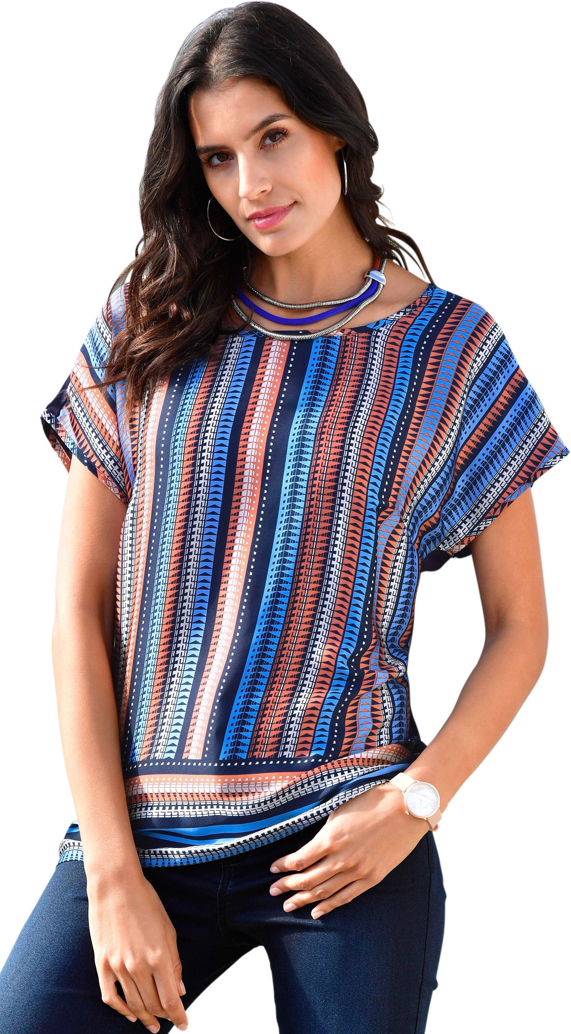 Op zoek naar een Classic Inspirationen shirt van chic glanzend satijn? Koop online bij OTTO
