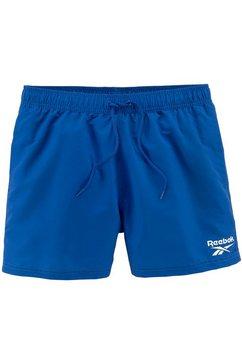 reebok zwemshort blauw