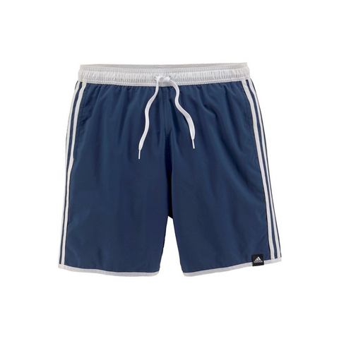 adidas performance zwemshort 3-Stripes blauw