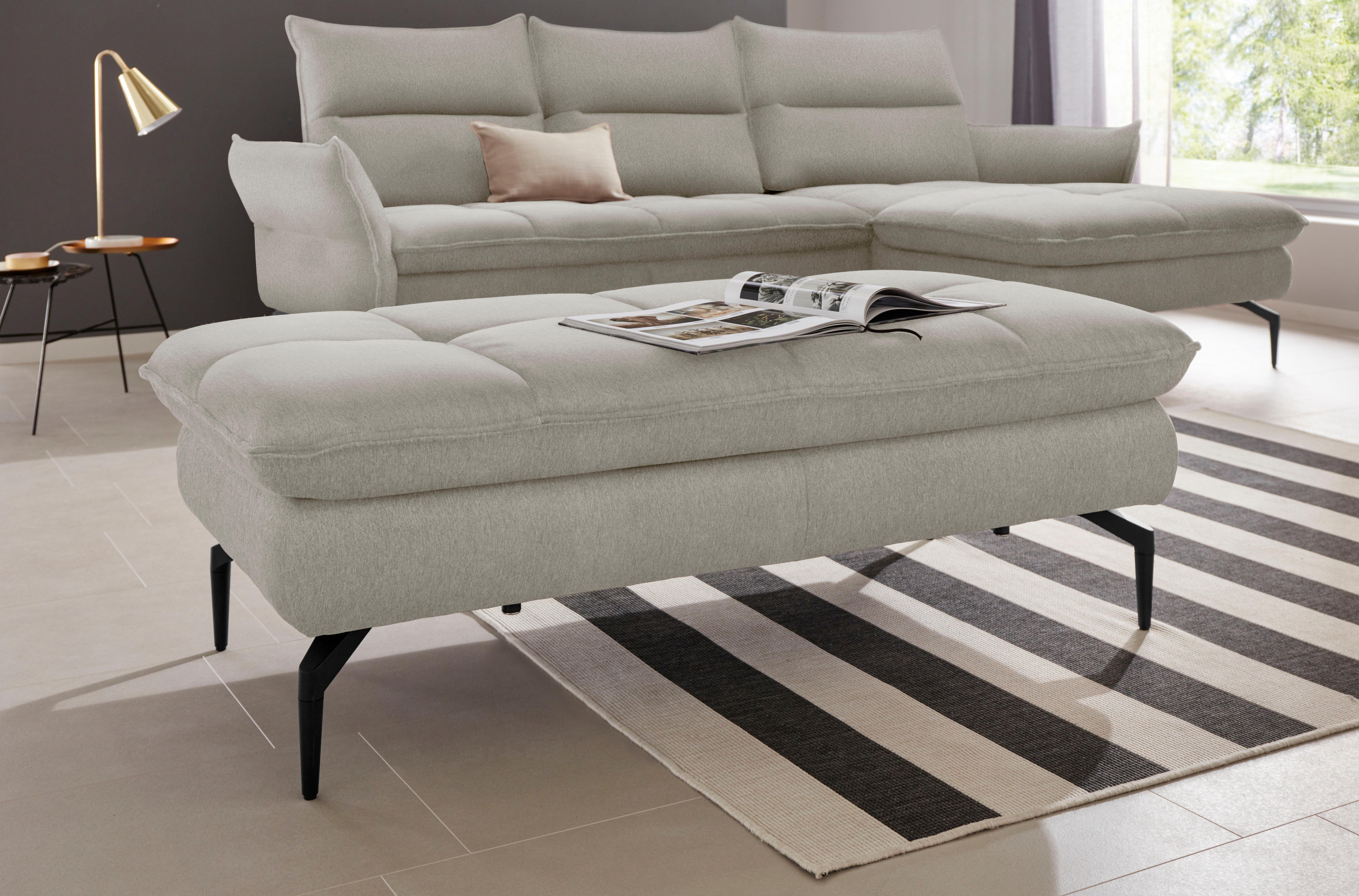 exxpo - sofa fashion hocker Comfortabele golfvering voordelig en veilig online kopen