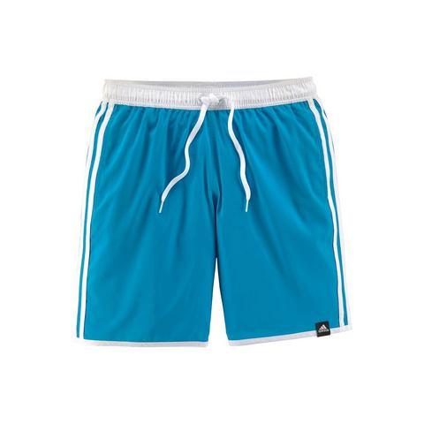 adidas 3-stripes clx boardshort blauw heren Heren
