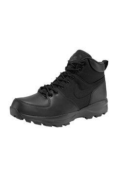 nike sportswear hoge veterschoenen »manoa« zwart