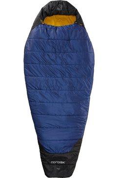 nordisk mummieslaapzak »puk +4 egg« blauw