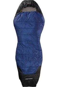 nordisk mummieslaapzak »puk +10 curve« blauw