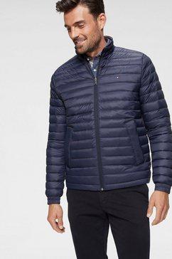 tommy hilfiger gewatteerd jack »packable down jacket« blauw
