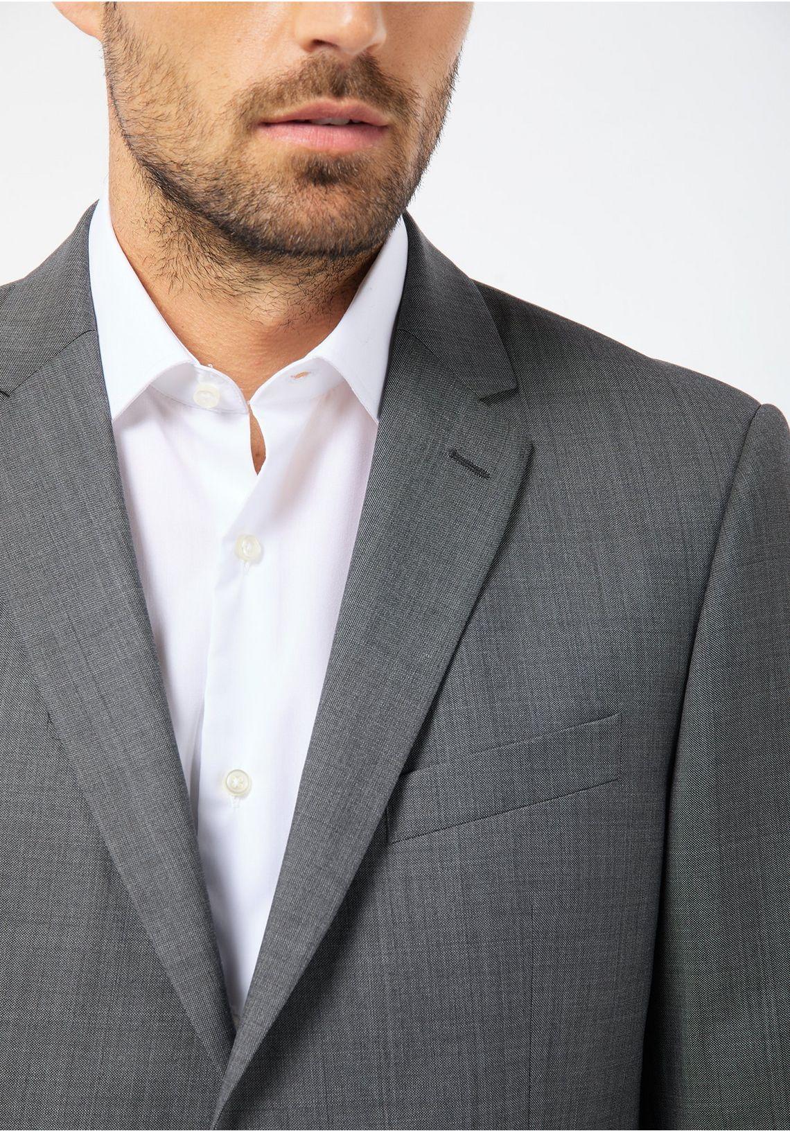 PIERRE CARDIN Modulaire jasje - Regular Fit  Brice makkelijk gekocht  grau