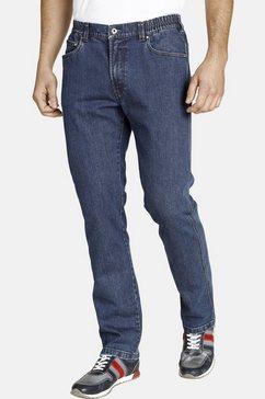 jan vanderstorm bequeme jeans »loyd« blauw
