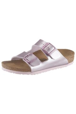 birkenstock slippers »arizona bf electric metallic« paars
