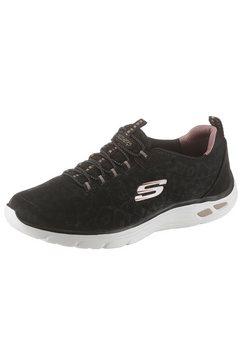 skechers slip-on sneakers »empire d´lux - spotted« zwart