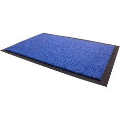 mat, »dancer«, primaflor-ideen in textil, rechthoekig, hoogte 6 mm blauw