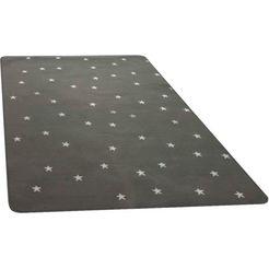 vloerkleed voor de kinderkamer, »stella«, primaflor-ideen in textil, rechthoekig, hoogte 5 mm grijs