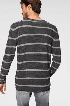 john devin trui met ronde hals zwart