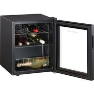 severin »ks 9889« wijnklimaatkast zwart