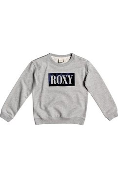 roxy sweatshirt »spring day« grijs
