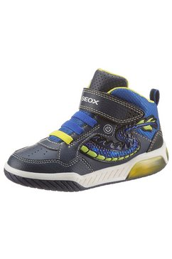 geox kids sneakers »blinkschuh inek boy« blauw
