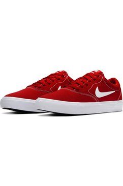 nike sb sneakers »charge solarsoft textile skate« rood